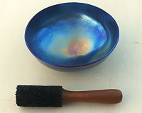 Rainbow Singing Bowl Size 14